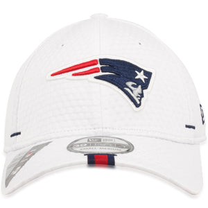 New England Patriots 2019 Training Camp White 39Thirty Flexfit Cap
