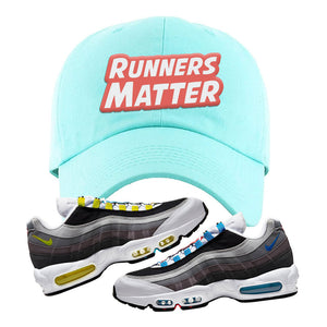 Air Max 95 QS Greedy Dad Hat | Mint, Runners Matter