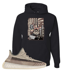 Yeezy 350 v2 Zyon Hoodie | Black, Attack Of The Bear
