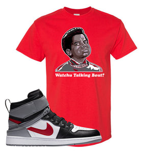 Air Jordan 1 Flyease T Shirt | Red, Watchu Talking Bout