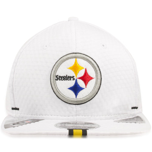 Pittsburgh Steelers 2019 Training Camp White 9Fifty Snapback Hat