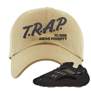 Yeezy 700 v3 Eremial Dad Hat | Trap To Rise Above Poverty, Khaki