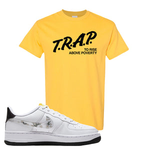 Air Force 1 T Shirt | Daisy, Trap To Rise Above Poverty