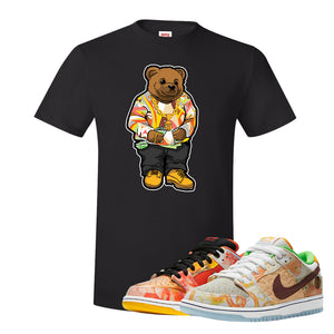 SB Dunk Low Street Hawker T Shirt | Sweater Bear, Black