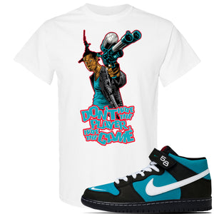 SB Dunk Mid 'Griffey' T Shirt | White, Dont Hate The Player
