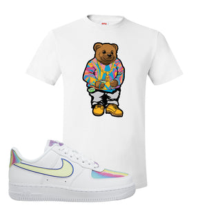 Air Force 1 Low Easter T Shirt | White, Sweater Bunny