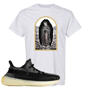 Yeezy Boost 350 v2 Carbon T Shirt | Virgin Mary, Ash
