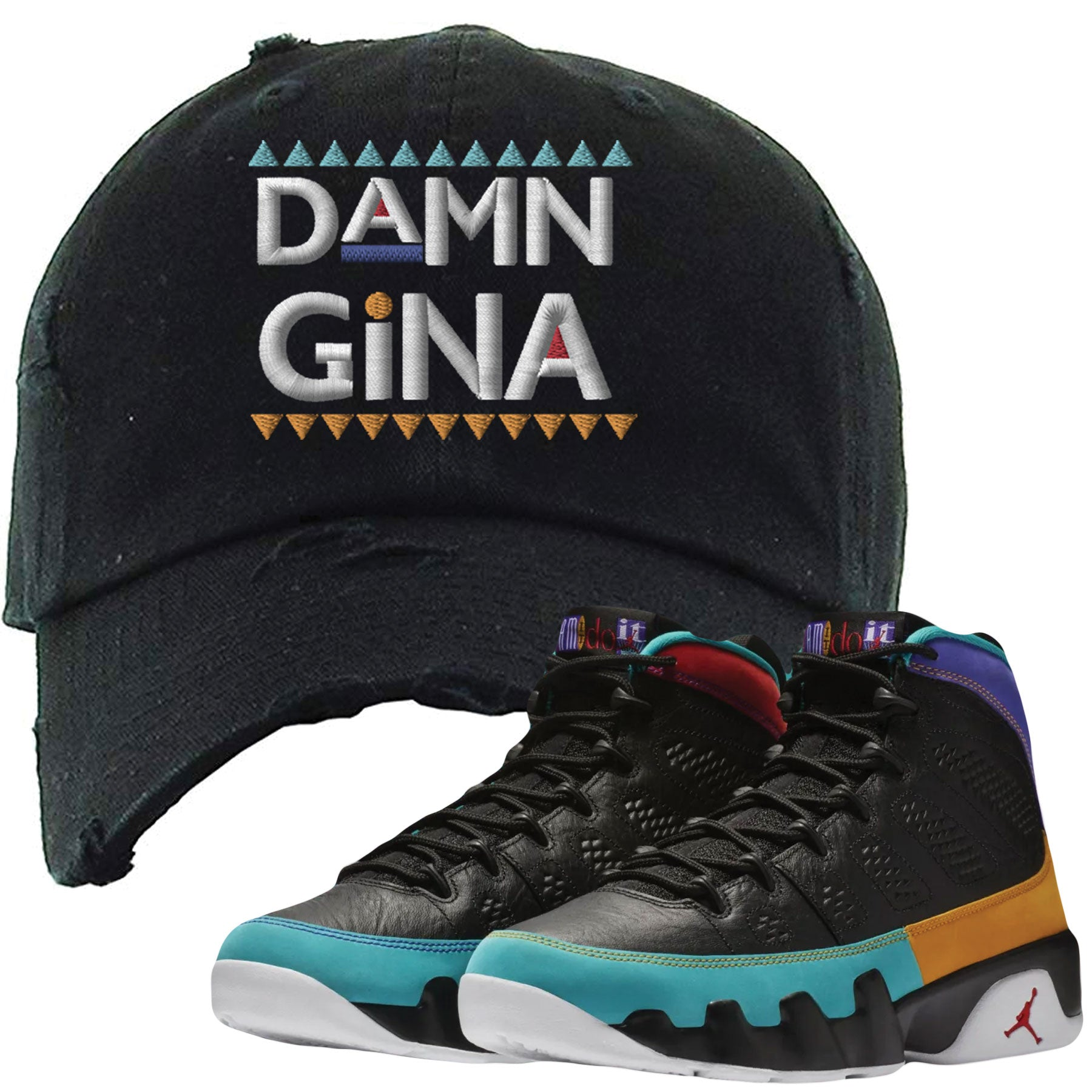 67aee38dd72 Shop sneaker matching clothing to match your pair of Jordan 9 Dream It Do  It Sneakers