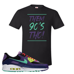Air Max 90 Cheetah T Shirt | Them 90's Tho, Black