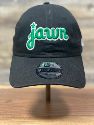 Jawn hat | Philadelphia inspired Jawn dad hat | Jawn New era dad hat | eagles colorway front of