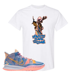 Kyrie 7 Expressions T-Shirt | Dont Hate The Playa, White