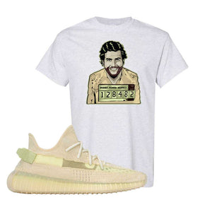 Yeezy Boost 350 V2 Flax T-Shirt | Ash, Escobar Illustration