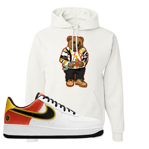 Air Force 1 Low Roswell Rayguns Hoodie | Sweater Bear, White