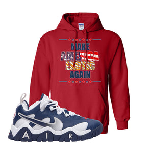 Air Barrage Low USA Hoodie | Red, Make America Exotic Again