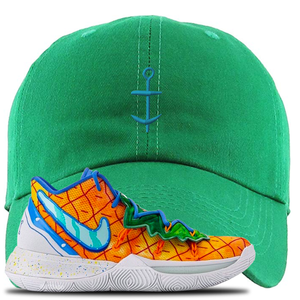 Kyrie 5 Pineapple House Dad Hat | Kelly Green, Anchor