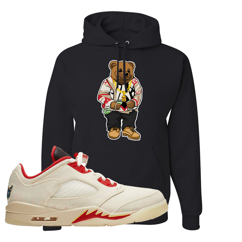 Air Jordan 5 Low Chinese New Year 2021 Hoodie | Sweater Bear, Black