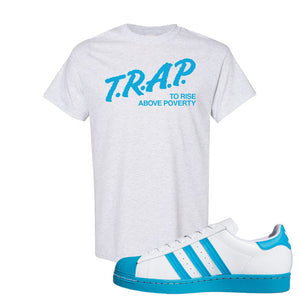 Adidas Superstar 'Aqua Toe' T Shirt | Ash, Trap To Rise Above Poverty