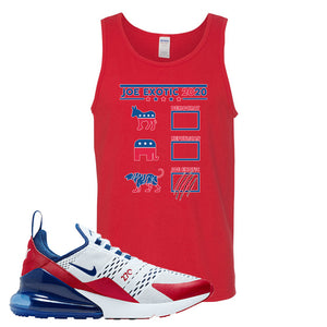 Air Max 270 USA Tank Top | Red, Exotic Ballot