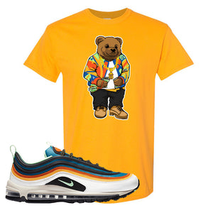 Air Max 97 Multi-Color T Shirt | Gold, Sweater Bear