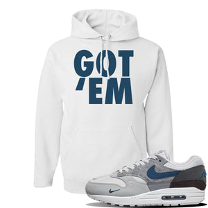 Air Max 1 London City Pack Hoodie | White, Got Em
