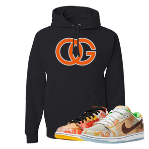 SB Dunk Low Street Hawker Hoodie | OG, Black