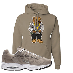 Air Max Triax 96 Grey Suede Hoodie | Sweater Bear, Khaki