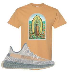 Yeezy Boost 350 V2 Israfil T Shirt | Old Gold, Virgin Mary