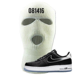 Colin Kaepernick X Air Force 1 Low 081416 White Sneaker Hook Up Ski Mask