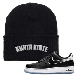 Colin Kaepernick X Air Force 1 Low Kunta Kinte Black Sneaker Hook Up Beanie