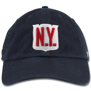 New York Rangers 2018 Winter Classic Patch Navy Blue Adjustable Baseball Cap