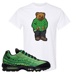 Air Max 95 Naija T Shirt | Sweater Bear, White