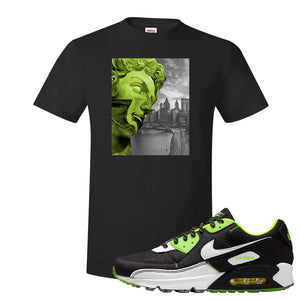 Air Max 90 Exeter Edition Black T Shirt | Miguel, Black