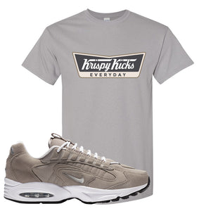 Air Max Triax 96 Grey Suede T Shirt | Krispy Kicks, Gravel