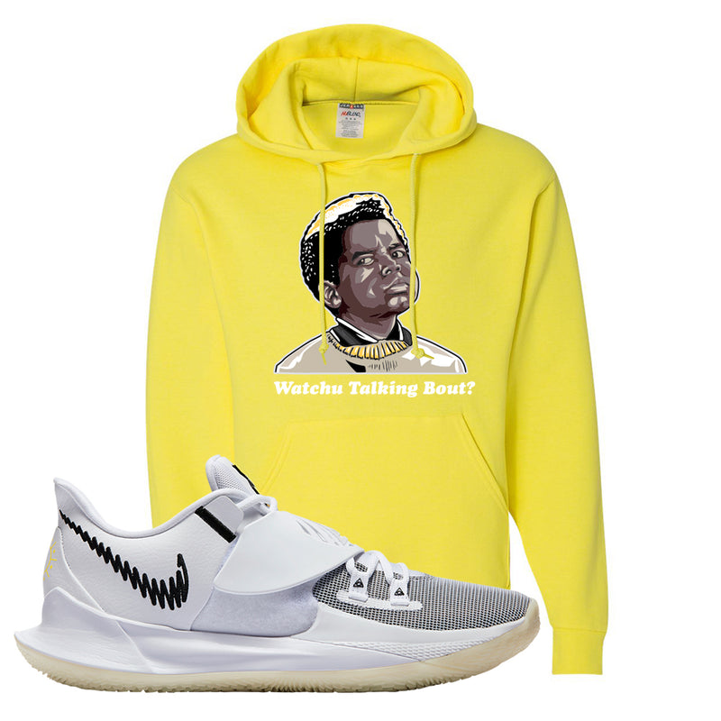 Kyrie Low 3 Hoodie | Yellow, Watchu Talking Bout
