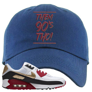 Air Max 90 Chinese New Year Dad Hat | Navy Blue, Them 90's Tho