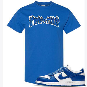 "Dunk Low ""Kentucky"" Sneaker Royal T Shirt 