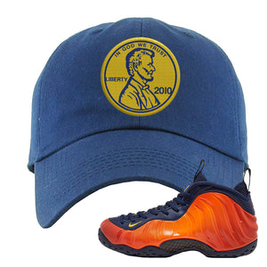 Foamposite One OKC Dad Hat | Navy Blue, Penny