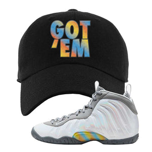 Lil Posite One Rainbow Pixel Dad Hat | Black, Got Em
