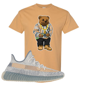 Yeezy Boost 350 V2 Israfil T Shirt | Old Gold, Sweater Bear