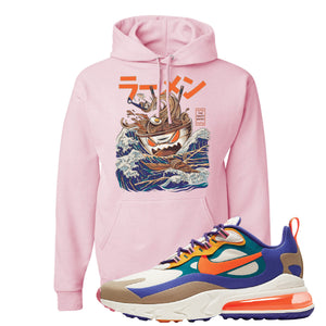 Air Max 270 React ACG Hoodie | Classic Pink, Ramen Monster