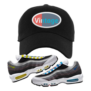 Air Max 95 QS Greedy Dad Hat | Black, Vintage Oval