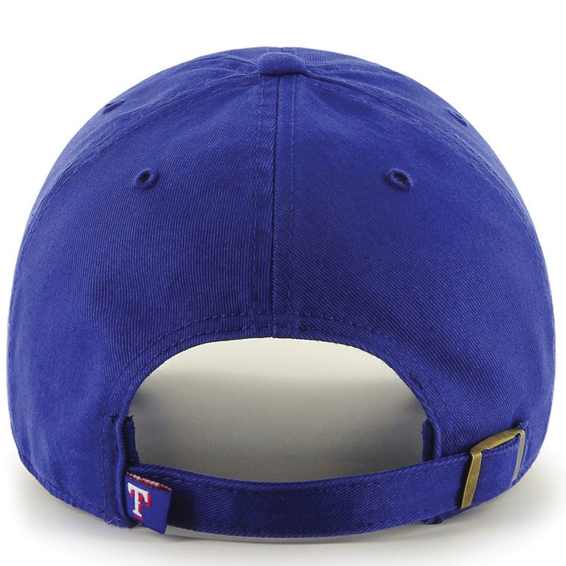 236289a6bfd ... clean up dad hat is the rangers  the back of the texas rangers  adjustable ball cap is a blue adjustable strap