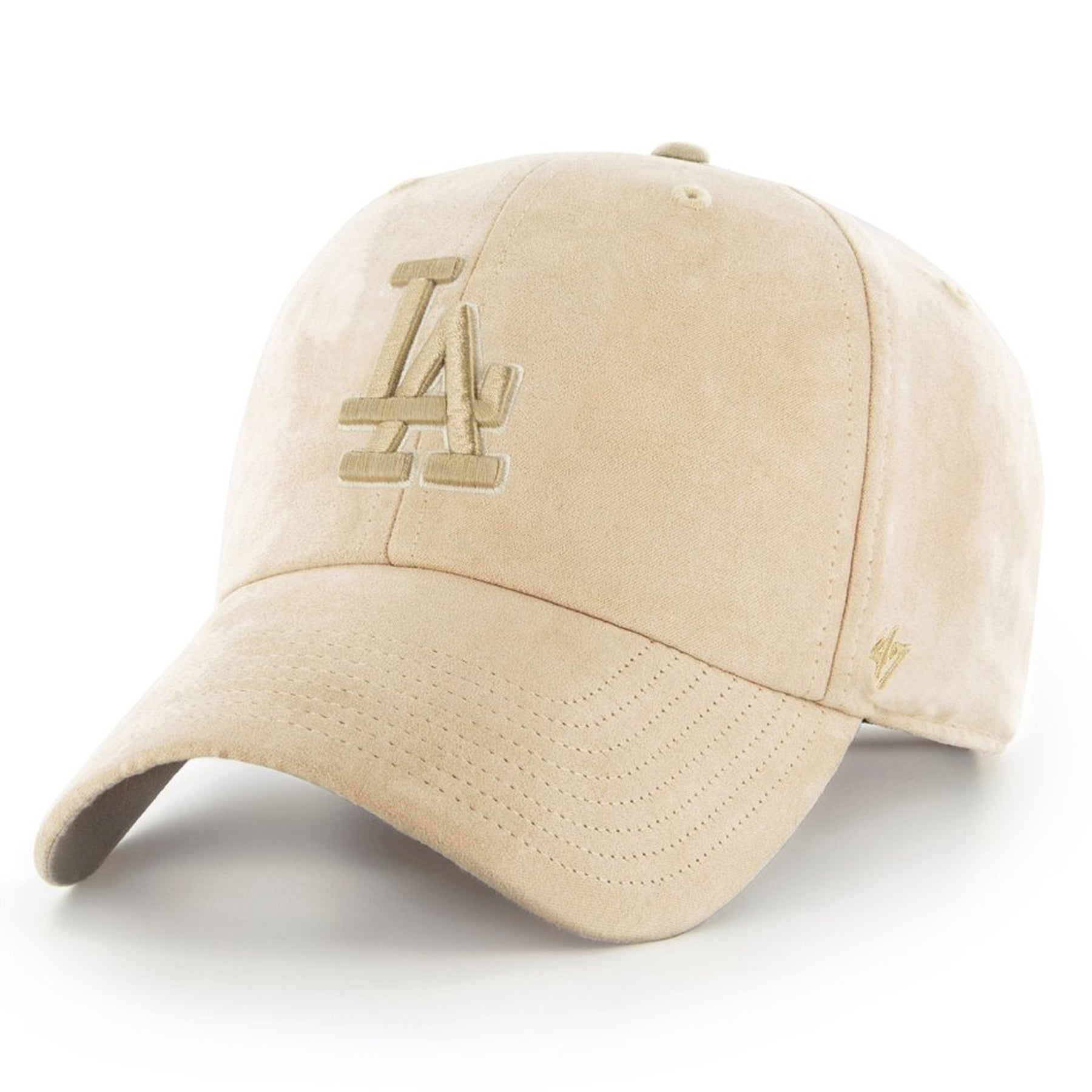 the tonal ultrabasic khaki los angeles dodgers dad hat is solid khaki with  a khaki los b73f652be2a