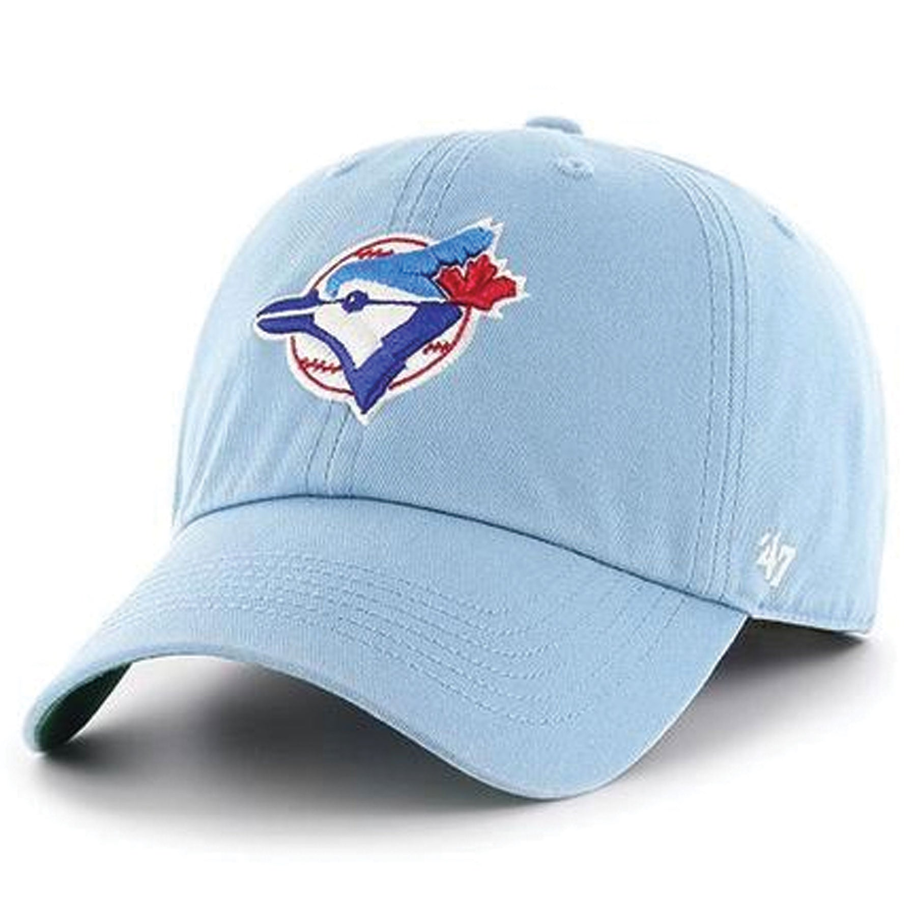 promo code 2cfde d129e Toronto Blue Jays Clean Up Vintage Retro Light Blue Dad Hat