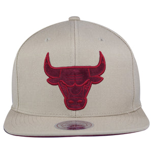 on the front of the jordan 12 bordeaux sneaker matching snapback hat is a chicago bulls logo embroidered in bordeaux and maroon