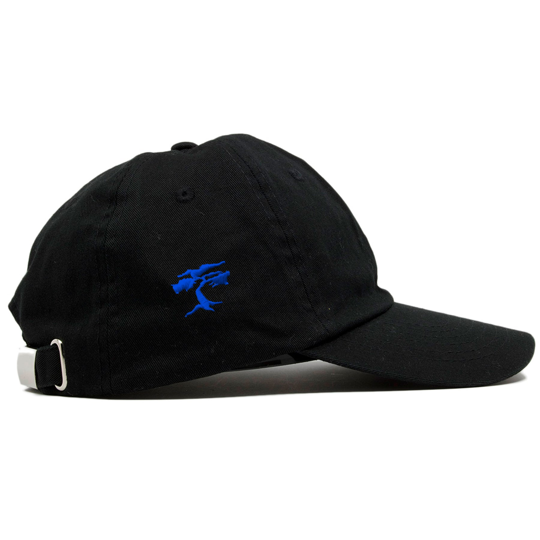 ... On the right side of the black Police Lives Matters Blue Lives Matters  dad hat b35666ce4974