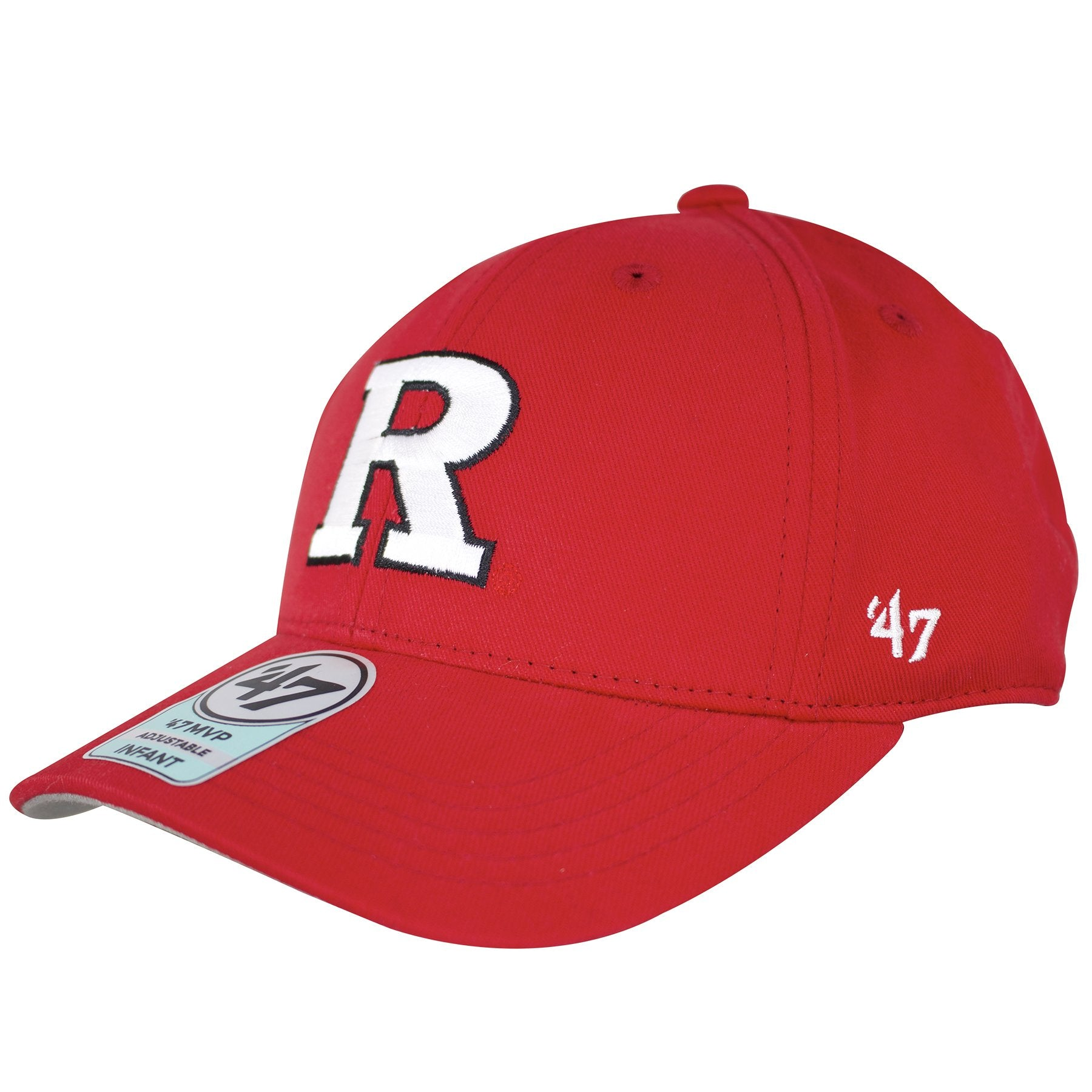 d7286352da3 ... hat  47 Brand logo is embroidered in white on the left side of this  Rutgers Scarlet Knights ...