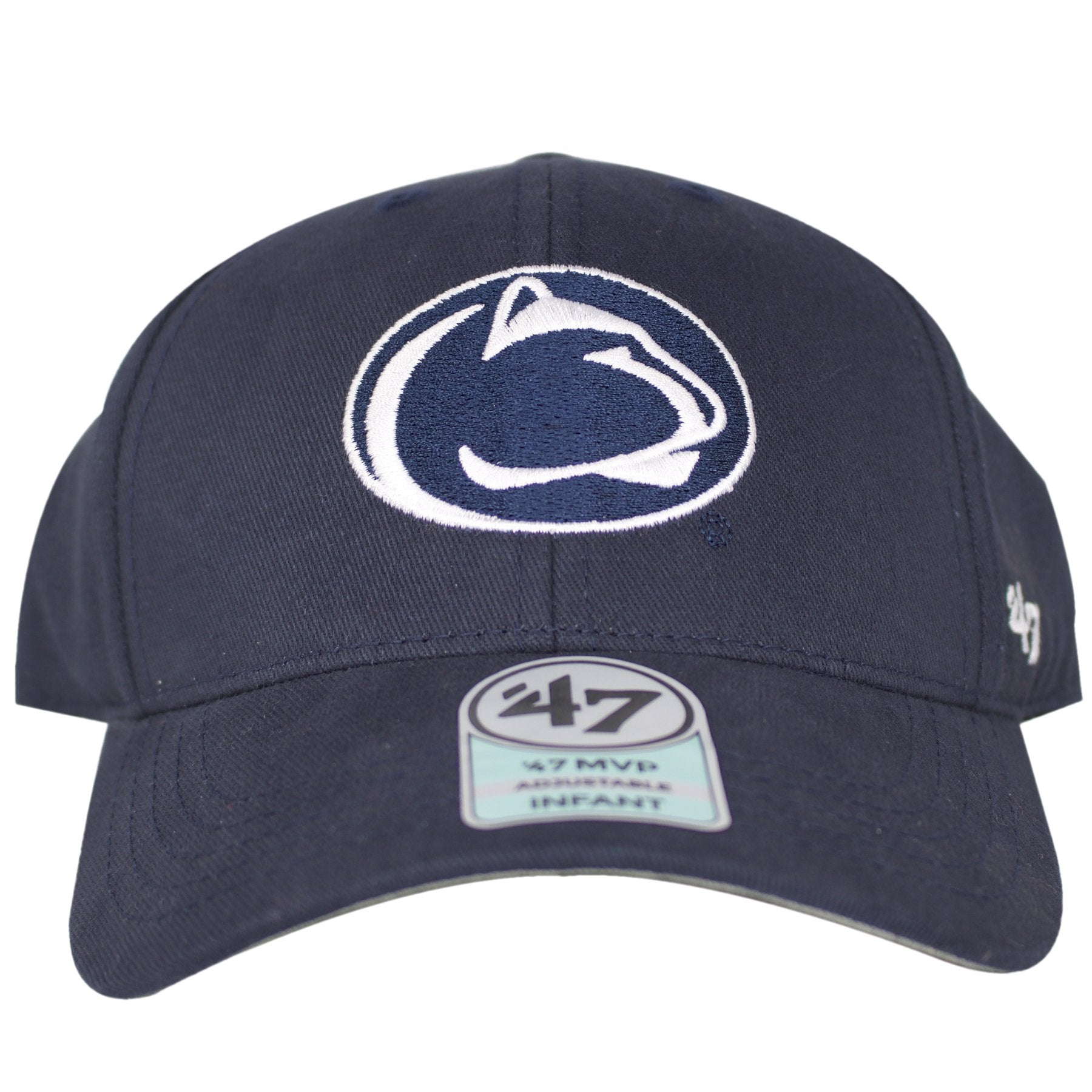 a3cda3b9fe057 Penn State Nittany Lions logo can be seen embroidered on the front of this  Basic MVP
