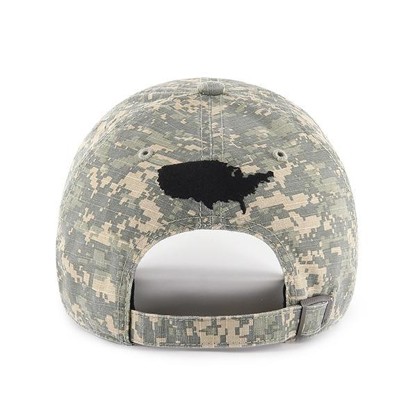 a018588a3508e ... Above the adjustable strap of the Operation Hat Trick Digital Camouflage   47 Brand Adjustable Cap ...