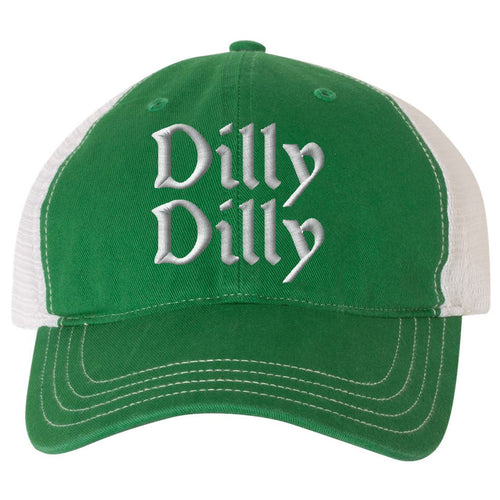 Show your Irish Pride for St.Patrick s Day with this must-have St. On Sale.  St. Patrick s Day Dilly Dilly Kelly Green Trucker Hat.  34.99  24.99 c9a9a63cb5da